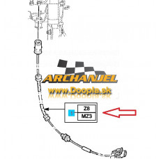 Kábel pre snímač rýchlosti a ABS OPEL - 6296805 - Doopla.sk | Opel Diely | Originál diely Opel | Archanjel Slovakia, s.r.o.