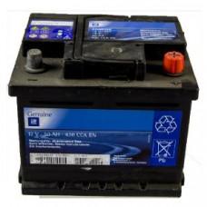 Autobateria GM 50AH, 420 A, 12V  s indikátorom stavu, Originál autobatéria OPEL - 95527530