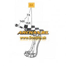 Držiak brzdového strmeňa OPEL Astra J - predný - ľavý - pre kotúč 276 mm - 13412811 - Doopla.sk | Opel Diely | Originál diely Opel | Archanjel Slovakia, s.r.o.