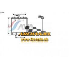 Chladič vodný Agila - benzín - A OL 2330 - Doopla.sk | Opel Diely | Originál diely Opel | Archanjel Slovakia, s.r.o.