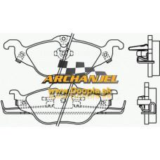 Brzdové doštičky OPEL Astra G - predné - pre priemer kotúča 256 mm - rozteč náboja 4 x 100 - 9195144 - BREMBO - P59030 - Doopla.sk | Originál diely Opel | Archanjel Slovakia, s.r.o.