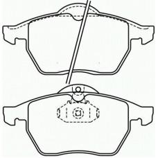 Brzdové doštičky predné BREMBO P59 022
