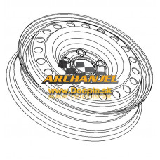 "Rezervné koleso OPEL - disk rezervného kolesa OPEL Insignia A - 17"" - 13235015 - Doopla.sk | Originál diely Opel | Archanjel Slovakia, s.r.o."