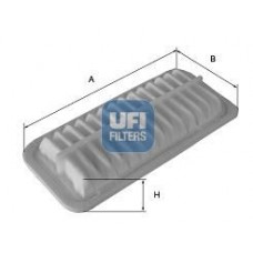 Vzduchový filter Opel Agila B - benzin - 93195891 - UFI - 30.550.00