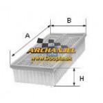 Vzduchový filter OPEL Astra J - A14XEL, A14XER, B14XER - 13272717 - UFI - 30.422.00 - Doopla.sk | Opel Diely | Originál diely Opel | Archanjel Slovakia, s.r.o.