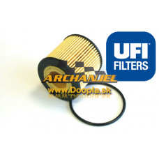 Olejový filter Opel - UFI - 25.091.00 - 93743595 - Doopla.sk | Opel Diely | Originál diely Opel | Archanjel Slovakia, s.r.o.