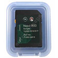 Aktualizácia máp OPEL SD karta - Navi 600 / 900 pre roky 2018/2019 - 39200851