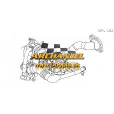 Chladič výfkových plynov OPEL - chladič recyrukovaných plynov - OPEL Astra J, OPEL Meriva B - 1,7 CDTi - A17DTJ, A17DTL, A17DTR - 98073074 - Doopla.sk | Opel Diely | Originál diely Opel | Archanjel Slovakia, s.r.o.