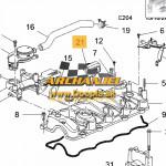 Uzáver olejového hrdla OPEL - viečko olejového hrdla OPEL Antara - Z20DM, Z20DHM, Z20S - 96440305  - Doopla.sk | Opel Diely | Originál diely Opel | Archanjel Slovakia, s.r.o.