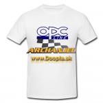 Tričko OPC Opel biele verzia II. - Doopla.sk | Opel Diely | Originál diely Opel | Archanjel Slovakia, s.r.o.
