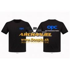 Tričko OPC Opel čierne verzia III. - Doopla.sk | Opel Diely | Originál diely Opel | Archanjel Slovakia, s.r.o.