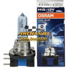 Osram Cool Blue Intense H15 12V/55W/15W - 64176CBI - Doopla.sk | Originál diely Opel | Archanjel Slovakia, s.r.o.