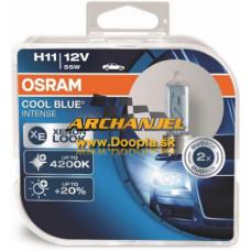 Osram Cool Blue Intense H11 12V/55W - 64211CBI-HCB - Doopla.sk | Originál diely Opel | Archanjel Slovakia, s.r.o.