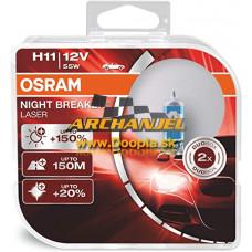 Osram Night Breaker® Laser H11 12V/55W - 64211NL-HCB - Doopla.sk | Originál diely Opel | Archanjel Slovakia, s.r.o.