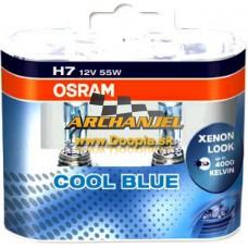 Žiarovka OSRAM H7 - COOL BLUE INTENSE - 4200K - modrobiele svetlo - 2 ks - Doopla.sk | Opel Diely | Originál diely Opel | Archanjel Slovakia, s.r.o.