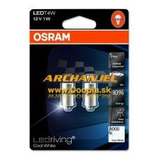 Žiarovka OSRAM - T4W LEDriving - 12V - 6000k - 3850CW-02B - 2ks - Doopla.sk | Opel Diely | Originál diely Opel | Archanjel Slovakia, s.r.o.