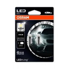 Žiarovka OSRAM - T4W LEDriving - 12V - 4000k - 3850WW-02B - 2ks