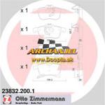 Brzdové doštičky OPEL - predné Zimmermann - 23832.200.1 - Doopla.sk | Opel Diely | Originál diely Opel | Archanjel Slovakia, s.r.o.