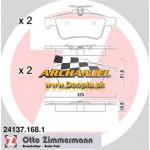 Brzdové doštičky zadné Zimmermann - 24137.168.1 - Doopla.sk | Opel Diely | Originál diely Opel | Archanjel Slovakia, s.r.o.
