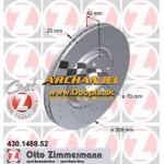 Brzdový kotúč OPEL - predný Zimmermann - 308 mm - 430.1488.52 - Doopla.sk | Opel Diely | Originál diely Opel | Archanjel Slovakia, s.r.o.