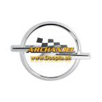 Znak prednej mriežky Opel Astra G - 90587102