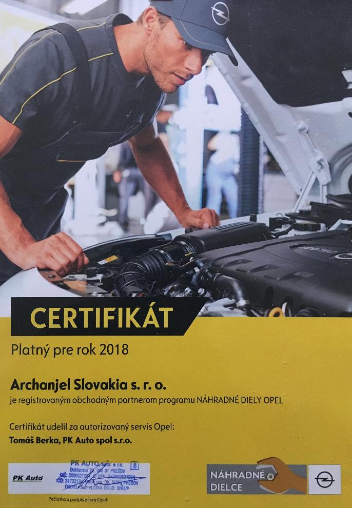 Originálne náhradne diely Opel